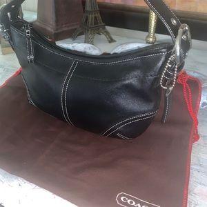 Coach leather shoulder bag Soho 9541